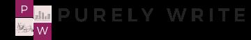Logo for Purely Write Website